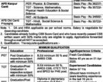 Army Public School Recruitment 2020 AWES TGT PGT Clerk