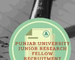 Punjab University Junior Research Fellow Recruitment